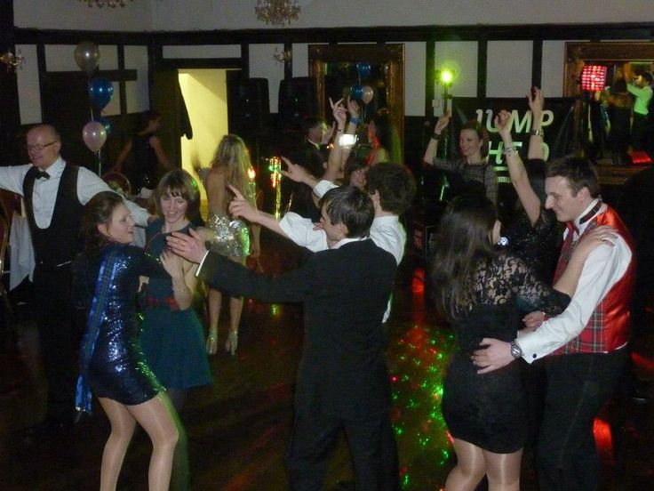 Dancing to the band. Live music for weddings in the North East & North Yorkshire by Jump The Q. www.jumptheq.info