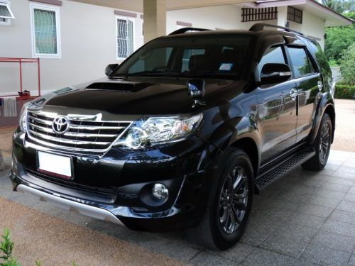 Immaculate 2013 Toyota Fortuner 3 0 Trd Sportivo Suv In Black