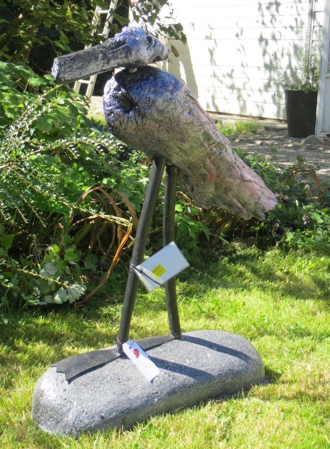 #14 - Yardbird by Yardbirdz Driftwood Art (Retail value $75.00)  Starting Bid:  $10.00 CDN