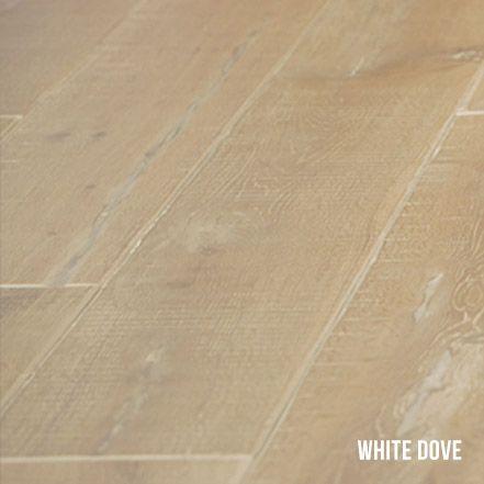 Heartridge Engineered Timber Flooring in Woodland Oak, White Dove