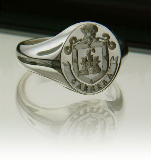Family Crest Ring - Silver