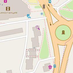 Старые карты городов России    Open Street Standard Map