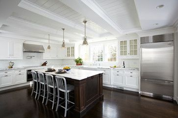 Whole House - Re-do Center Hall Colonial traditional kitchen