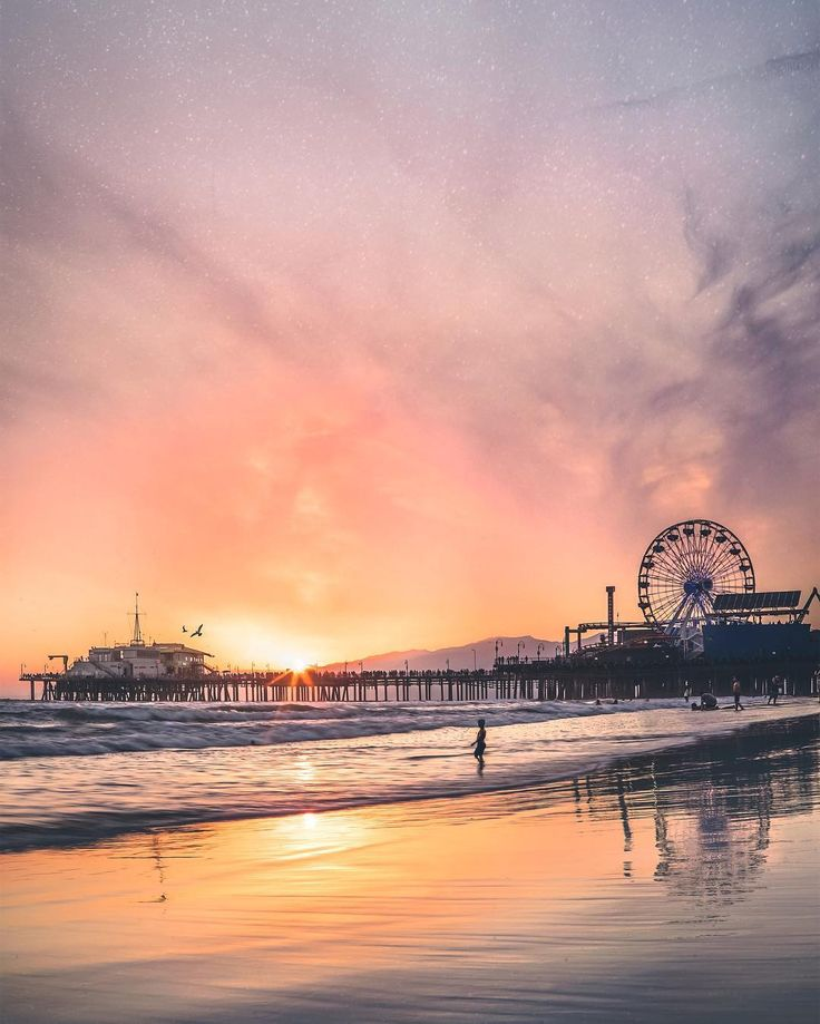 Santa Monica Pier - California