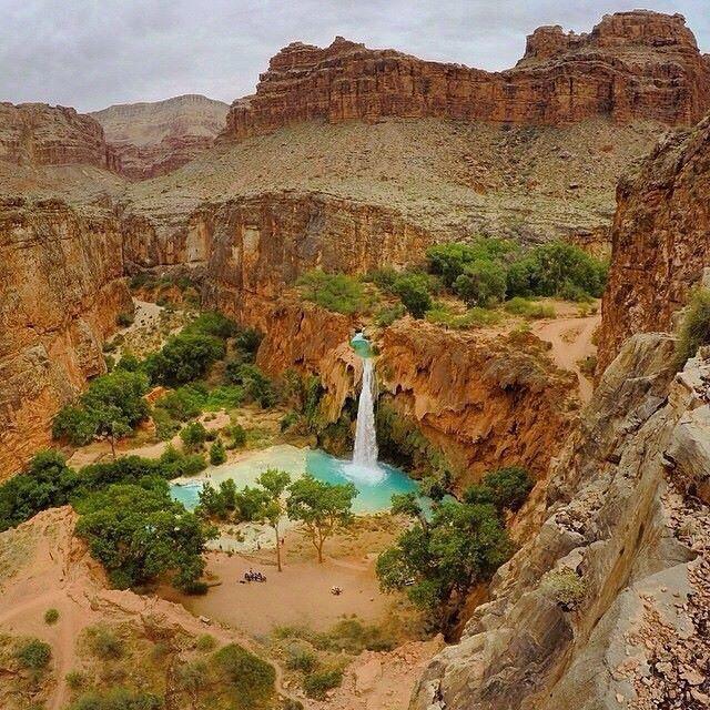 havasu falls, Az USA