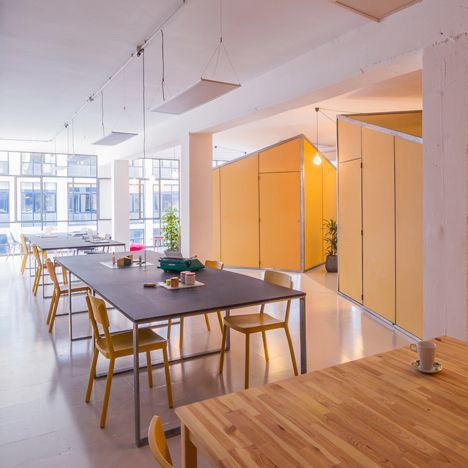 Nook Architects move into self-designed<br /> co-working space in Barcelona