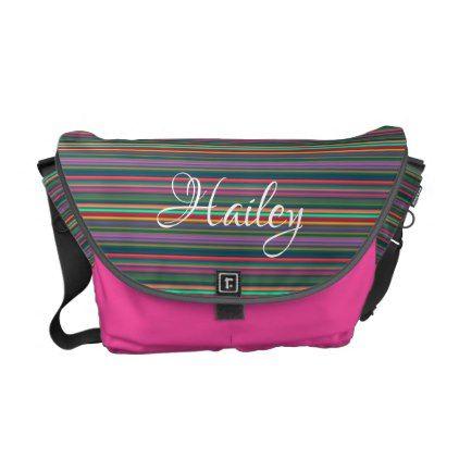 HAMbWG - Rickshaw Messenger Bag - Neon  $114.00  by HamByWhiteGlove  - custom gift idea
