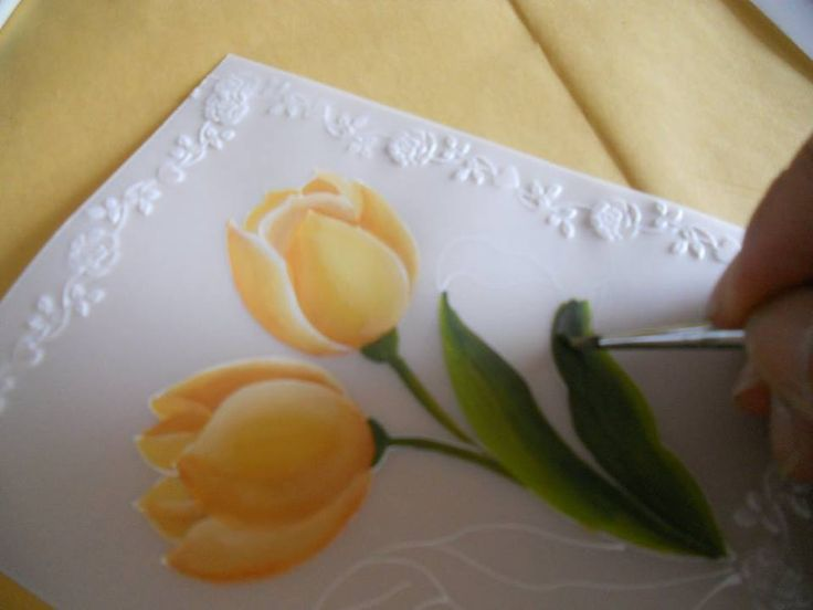 how to make parchment craft cards