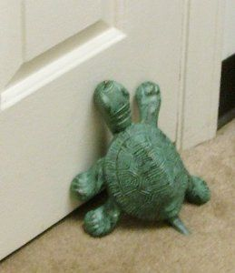 Thomas the Turtle Cast Iron Doorstop Statuary by In the Garden and More. $37.95. Made of cast iron with a verdigris finish.