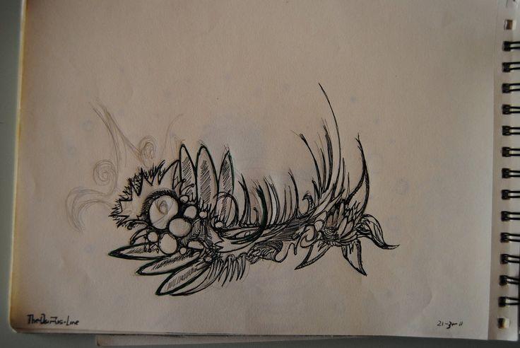 Osiris Tattoo Designs Flower triskel tattoo