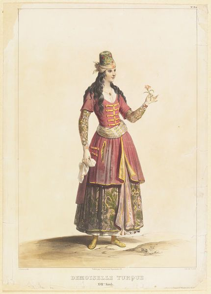Demoiselle Turque XVIIe. siecle