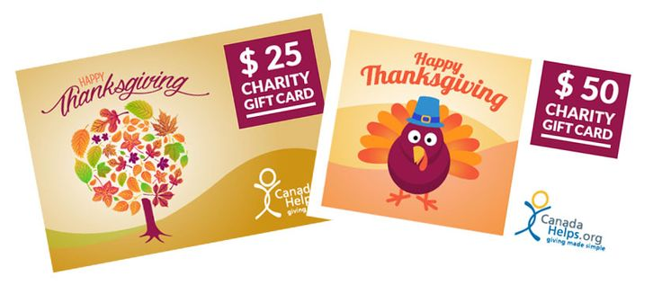 A Charity Gift Card from CanadaHelps is the perfect way to celebrate Thanksgiving. Be thankful, and give back by giving a charity gift card to your friends and family! #Thanksgiving #Gifts