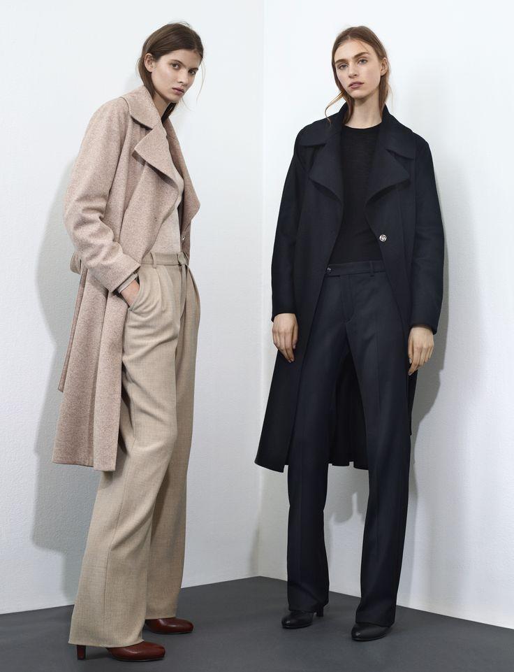 Filippa K AW15 lookbook, The Ina coat