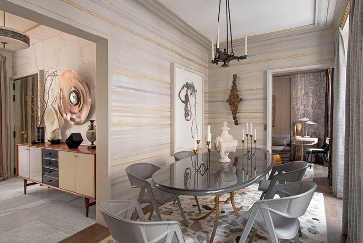 Парижские апартаменты «короля дизайна» Jean-Louis Deniot