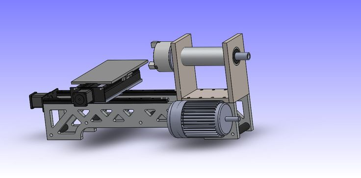 cnc lathe - SOLIDWORKS - 3D CAD model - GrabCAD