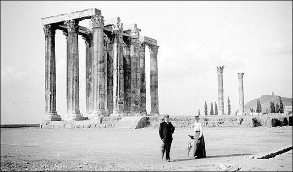 Ο Ναός του Ολυμπίου Διός το 1903.