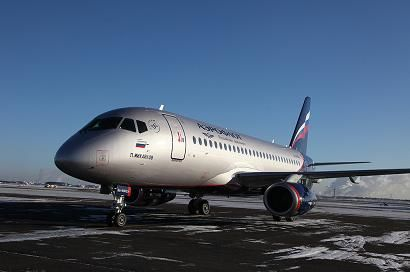 Russian flag carrier Aeroflot has received a new Boeing 777-300ER aircraft  http://www.aerospace-technology.com/news/newsaeroflot-takes-delivery-of-boeing-777-300er-sukhoi-superjet-100-4170576