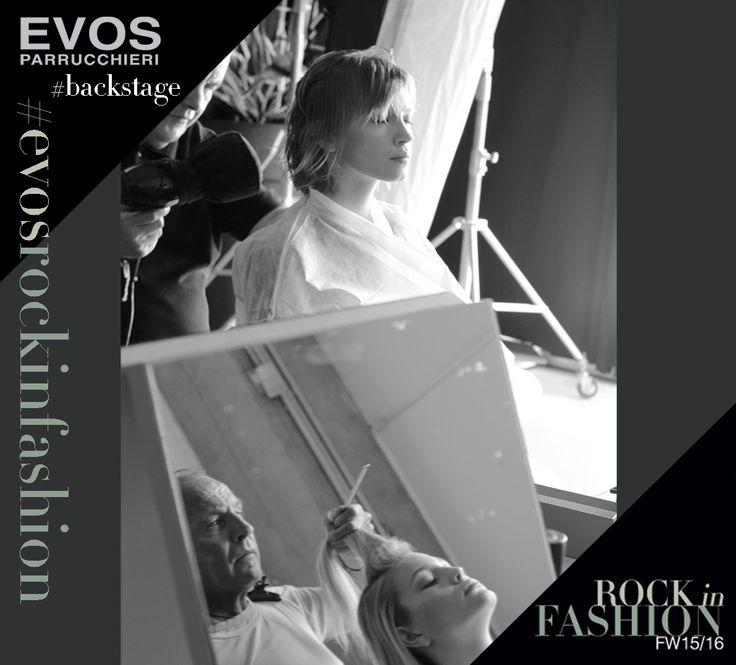 #EVOSROCKINFASHION  #ATWORK---  scatti rubati nel #backstage della nuova collezione @EVOS_italia    www.evos.it