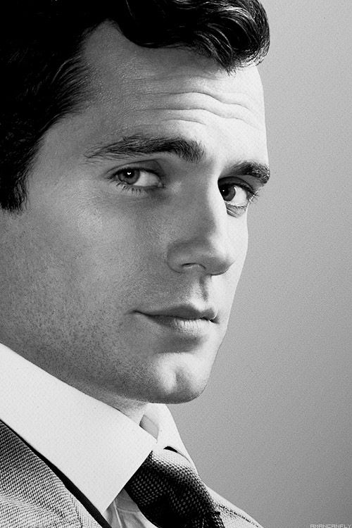 Reminds me of old Hollywood. ..... Henry Cavill