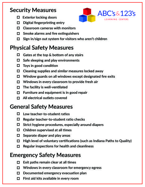 safety first  take this with you when visiting potential