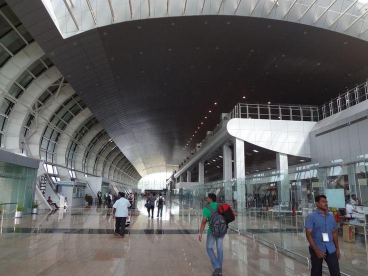 International Terminal at Trivandrum Airport