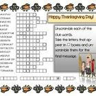 Thanksgiving Word Scramble Have fun unscrambling the words to find the secret message!  Practice Thanksgiving vocabulary Answer key included....