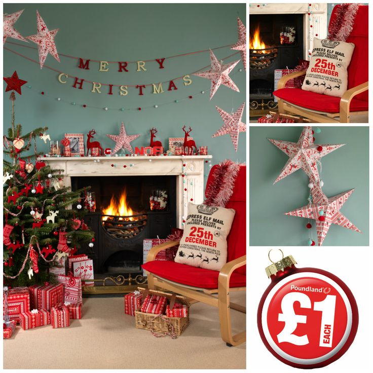 Nordic scandinavian look and feel christmas decorations from poundland who said christmas has to