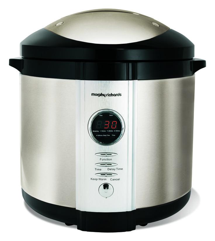 Digital Electric Pressure Cooker  http://www.morphyrichards.co.za/products/digital-electric-pressure-cooker-48815sa