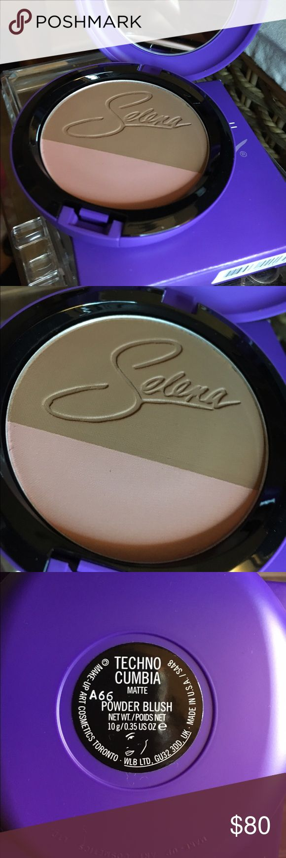 Selena MAC Collection limited edition!!! Bronzer/blush brand new in box I have for 80 but please make me an offer! Thank you Happy Poshing!! MAC Cosmetics Makeup Bronzer