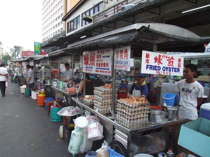 Lorong Baru美食街