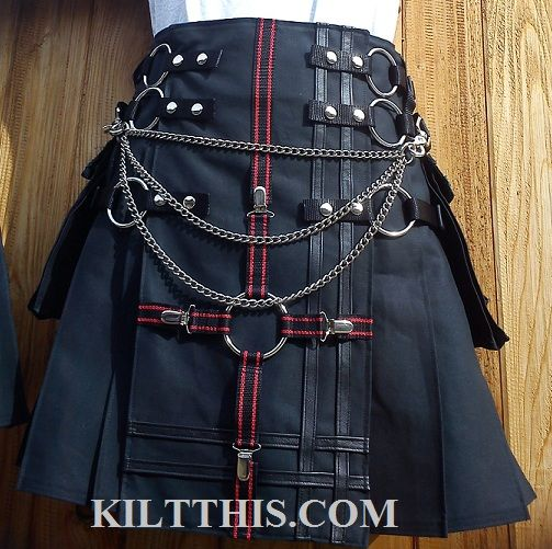 Kilt This is an American company run by 2 women and they handcraft the most amazing kilts and sell them by word of mouth, on the interwebs. :) A couple of geek, nerdy American chicks making the sickest of clothing. www.kiltthis.com