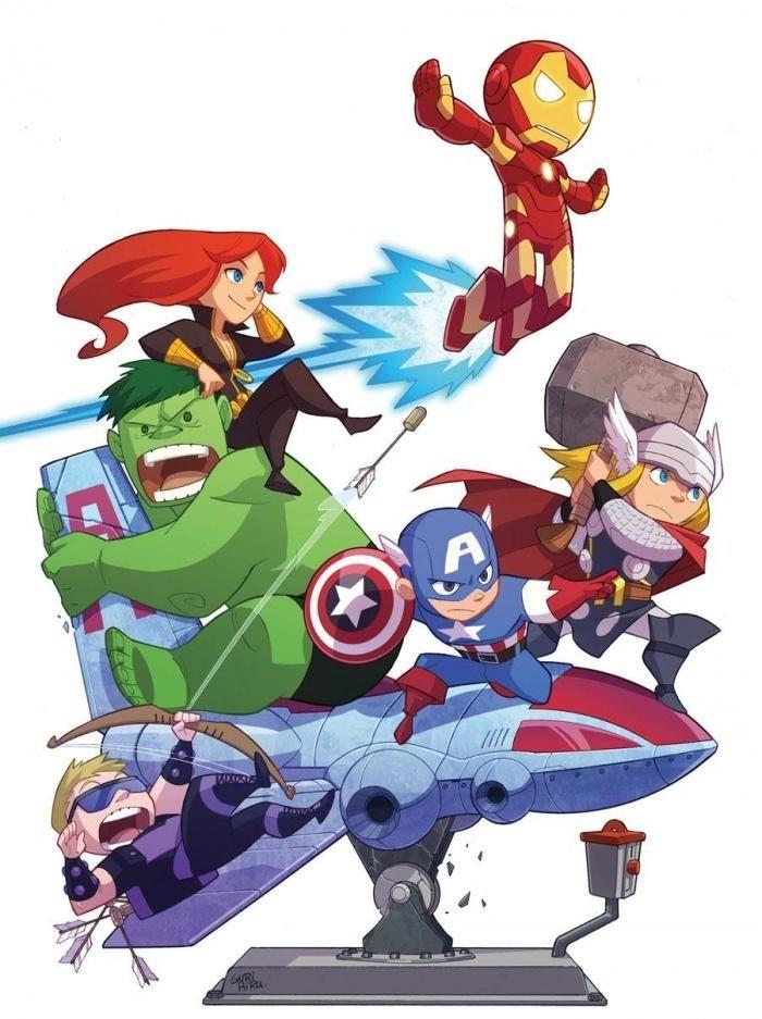 Baby Avengers | Comics All Day All Night | Pinterest ...