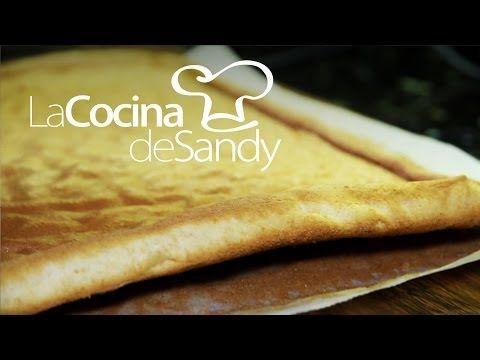 Como hacer la mejor masa de Pionono o Brazo de Gitano en 15´ - Recetas de Comida - YouTube