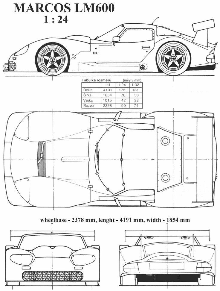 The 77 best blueprint images on pinterest car drawings cutaway marcos lm600 blueprint car drawingstechnical malvernweather Images