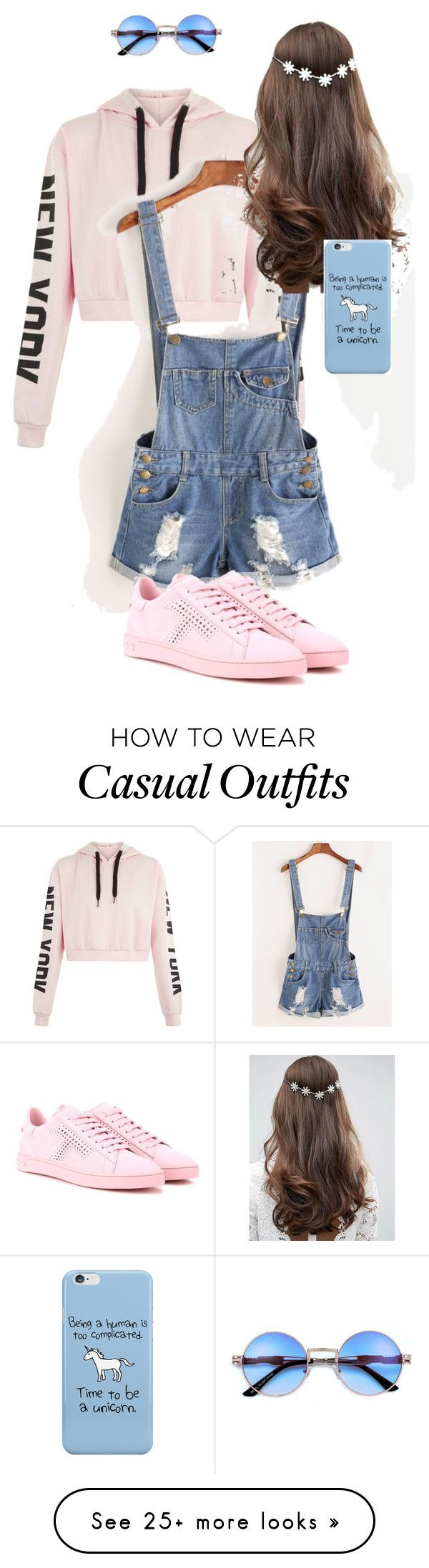 """Casual Tumblr Outfit"" by elisaca on Polyvore featuring Tod's and ASOS"