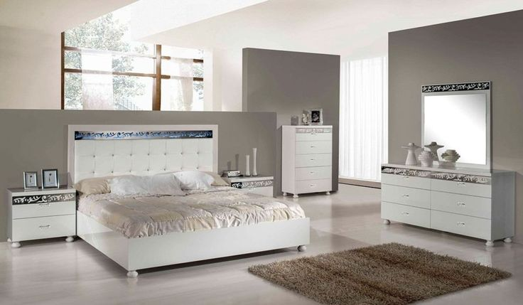 White Bedroom Ideas With Colour