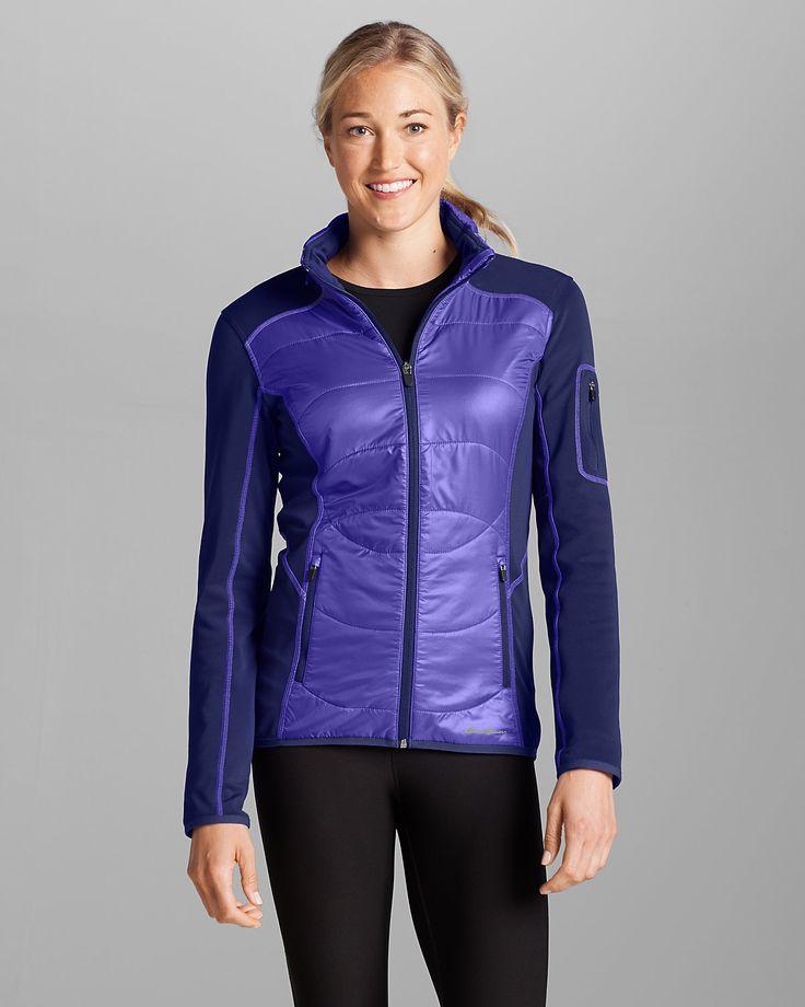 Women's Ignitelite Hybrid Jacket | Eddie Bauer | Cold ...