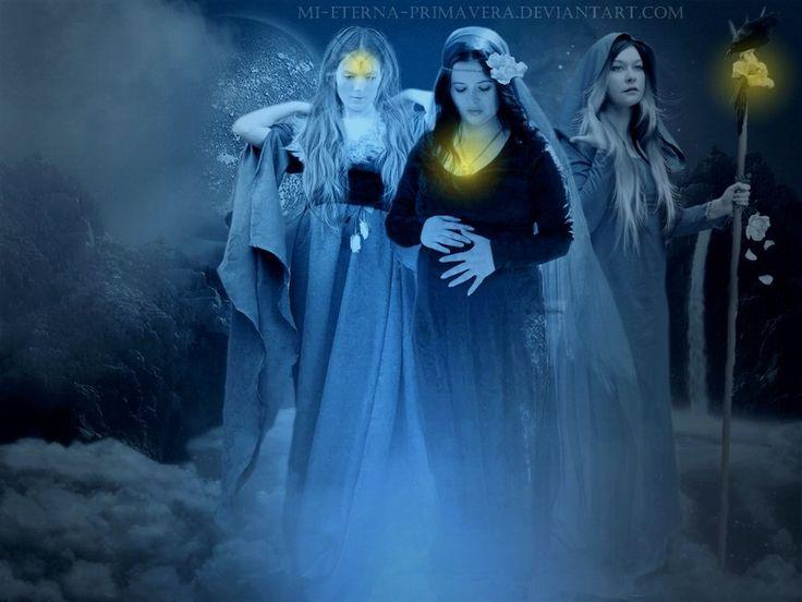 Tribute to the triple goddess by *mi-eterna-primavera on deviantART
