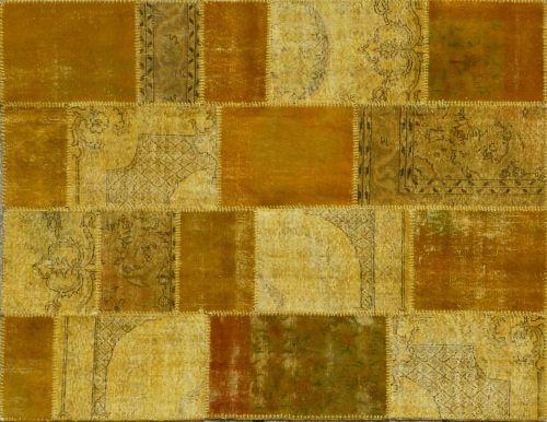 Alfombra Patchwork Ocre de Arquinter. Para dar color y calidez. 241x185cms