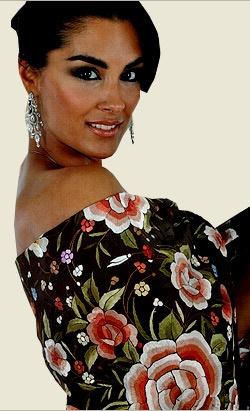 Mantones artesanales de seda natural. Nuevos modelos 2011