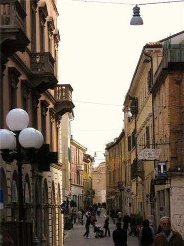 City Center. Pesaro, Italy