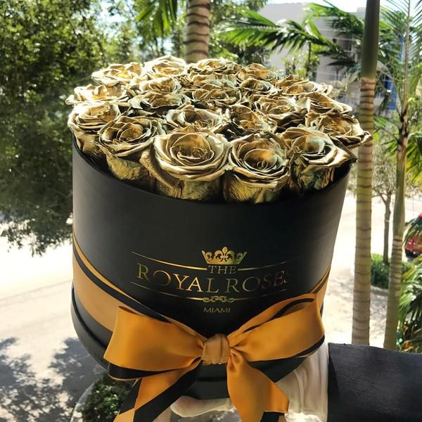 Real Long Lasting Roses Round Box Lifetime Is Over 1 Year Preserved Roses Rose Round Box