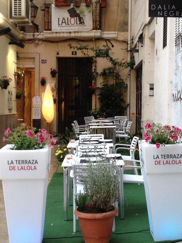 La terraza de La Lola