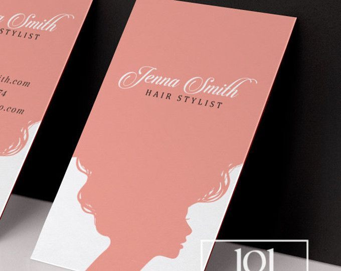 Pelo estilista tarjetas para imprimir tarjetas de visita diseño rosado tarjeta de visita peluquería tarjetas cita llamada tarjeta plantilla