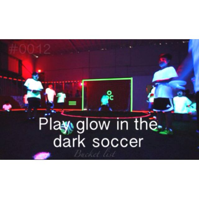 This would be a memorable party! So wish my soccer team could do this for our end of the year party!