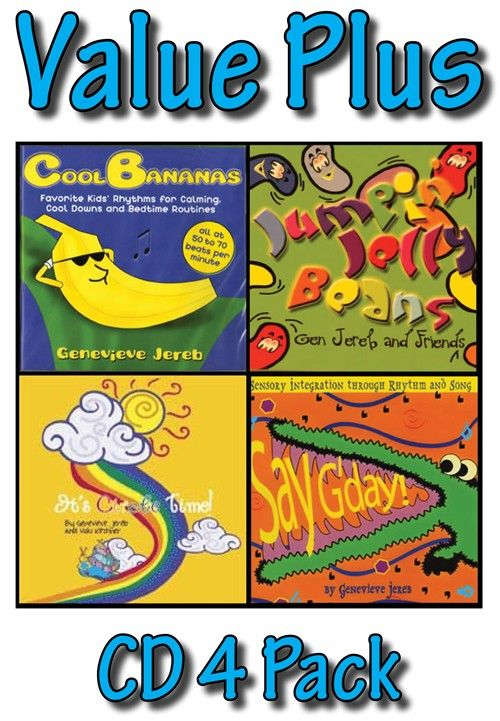 SensoryTools.net Australia - CD-Four-Pack Deal