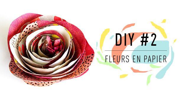 Pour le DIY #2 Fleurs en papier, L'Éclat de Verre Encadreur vous propose d'apprendre à réaliser une rose en papier avec du papier roulé. Facile !