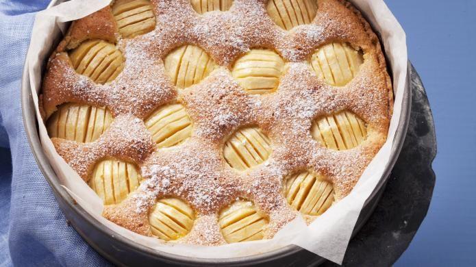 Versunkener Apfelkuchen Rezept Apfelkuchen Apfelkuchen Sehr Fein Und Versunkener Apfelkuchen