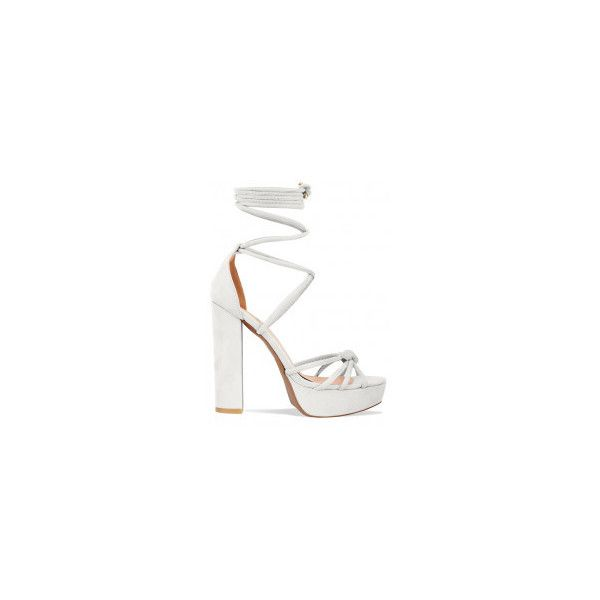 Tamia Nude Suede Lace Up Platform Heels : Simmi Shoes ($42) ❤ liked on Polyvore featuring shoes, pumps, platform lace up shoes, nude suede shoes, nude lace up shoes, laced shoes and lace up pumps