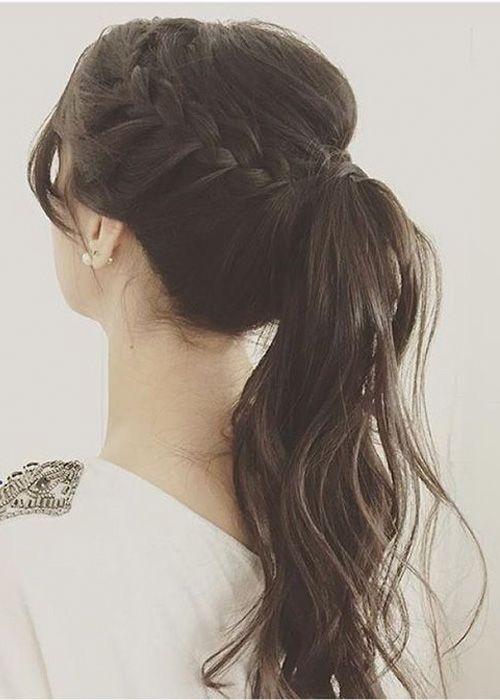 peinados novia coletas